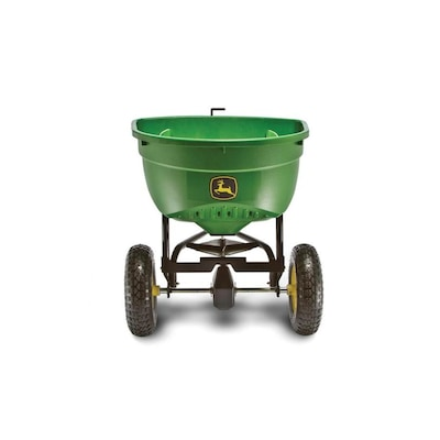John Deere 130-lb Capacity Tow-behind Lawn Spreader at Lowes com