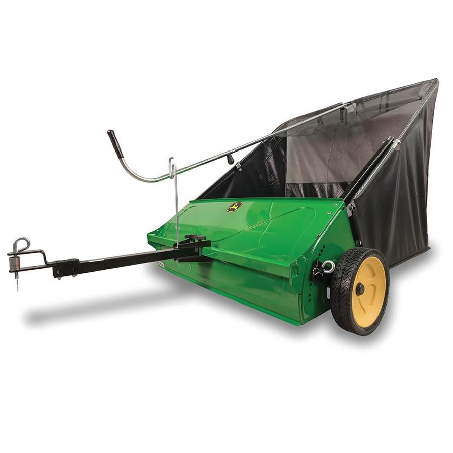 Shop John Deere 44 In Lawn Sweeper At Lowes Com