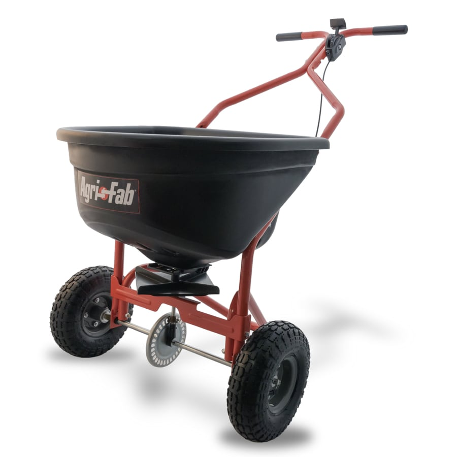 Shop Agri Fab 110 Lb Broadcast Fertilizer Spreader At