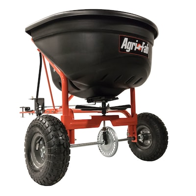 Agri-Fab 110-lb Capacity Tow-behind Lawn Spreader at Lowes com