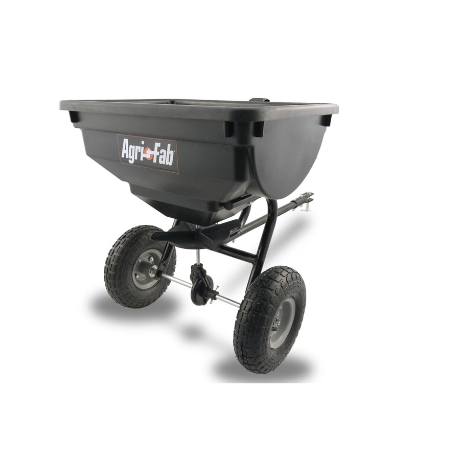 Agri Fab 85 Lb Capacity Tow Behind Lawn Spreader At Lowes Com