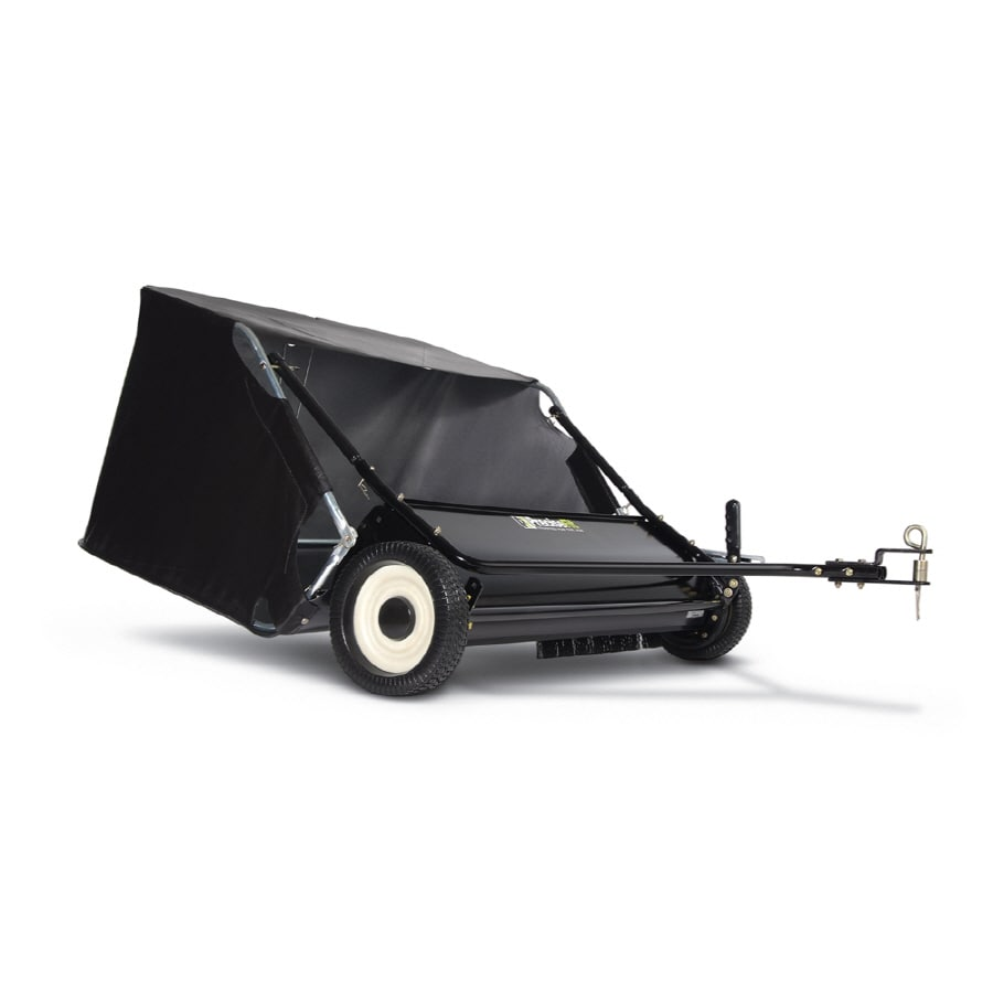 Blue Hawk 42-in Tow-Behind Lawn Sweeper