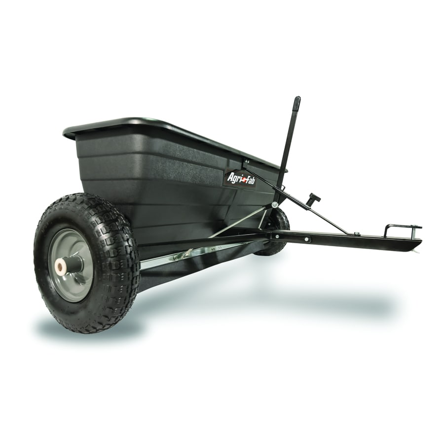 Shop Agri Fab 175 Lb Capacity Tow Behind Lawn Spreader At