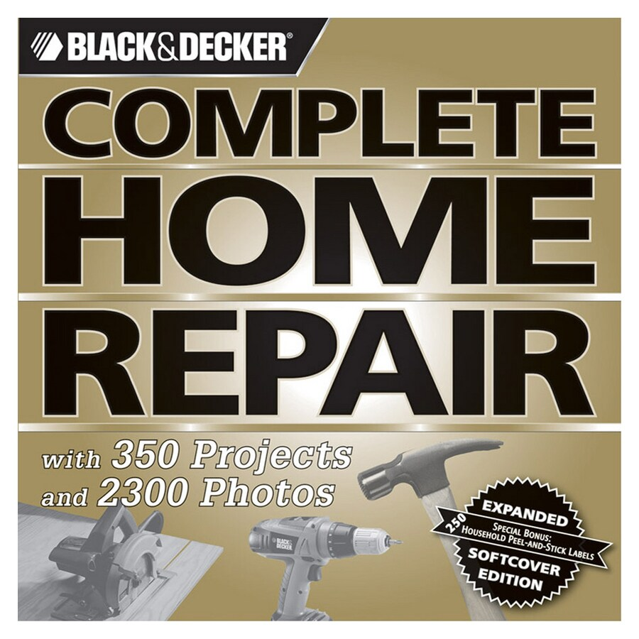Shop Home Design Alternatives Black & Decker Complete Home Repair ...