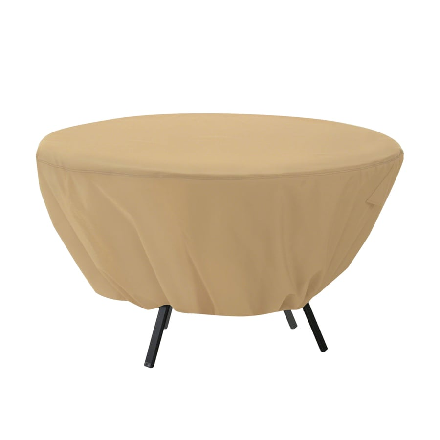 shop classic accessories terrazzo sand dining table round