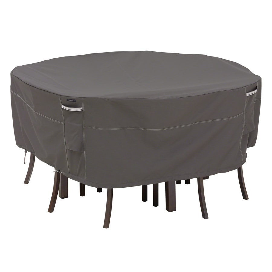 Classic Accessories RavenDark Taupe/Mushroom/Espresso Polyester Dining Set Cover