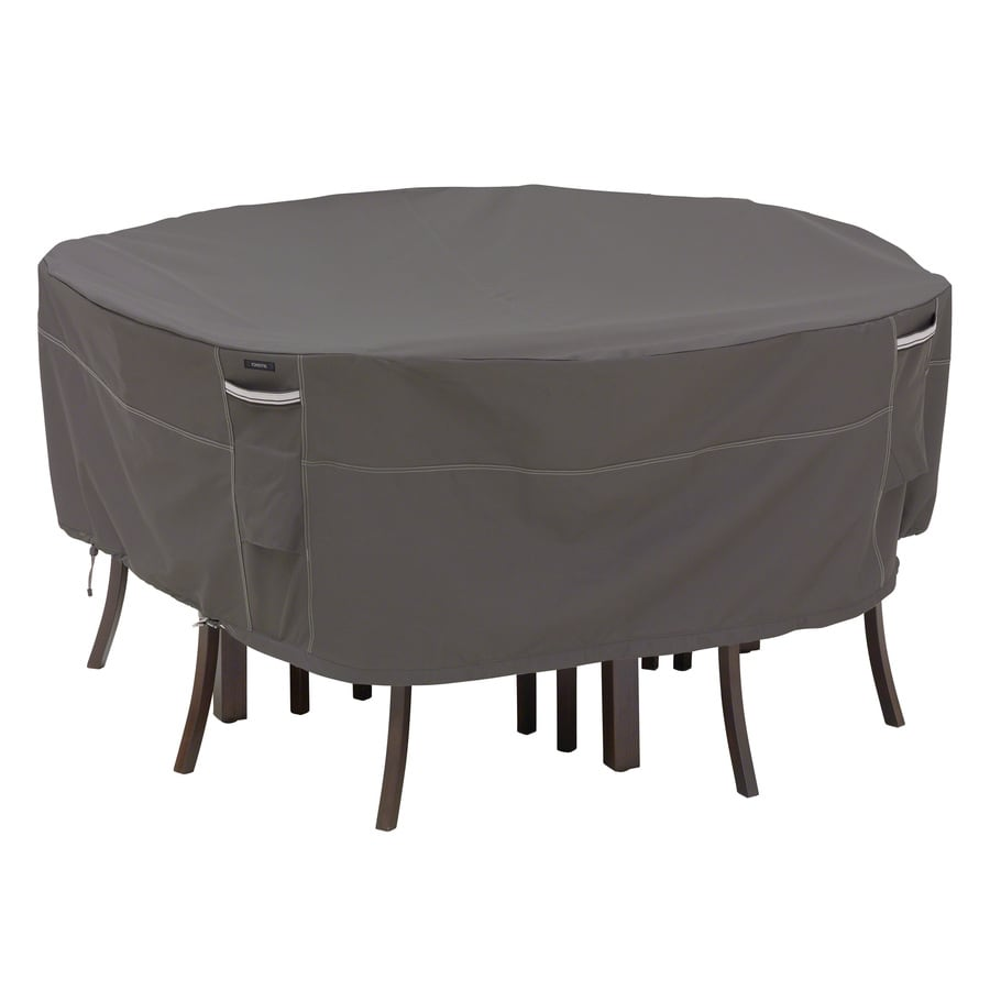 Classic Accessories Ravenna Dark Taupe Dining Set Cover