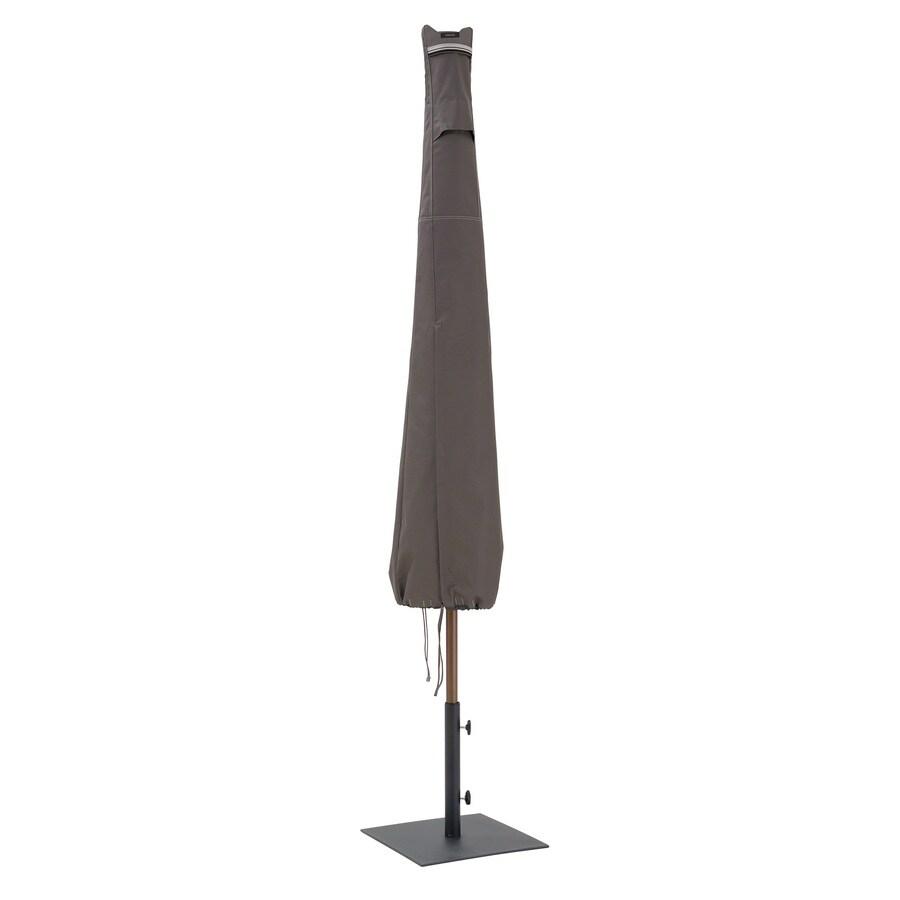 Classic Accessories Ravenna Dark Taupe Umbrella Cover