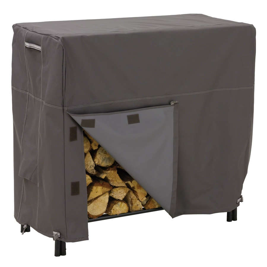 Classic Accessories 98-in L x 26-in W x 44-in H Polyester Firewood Cover
