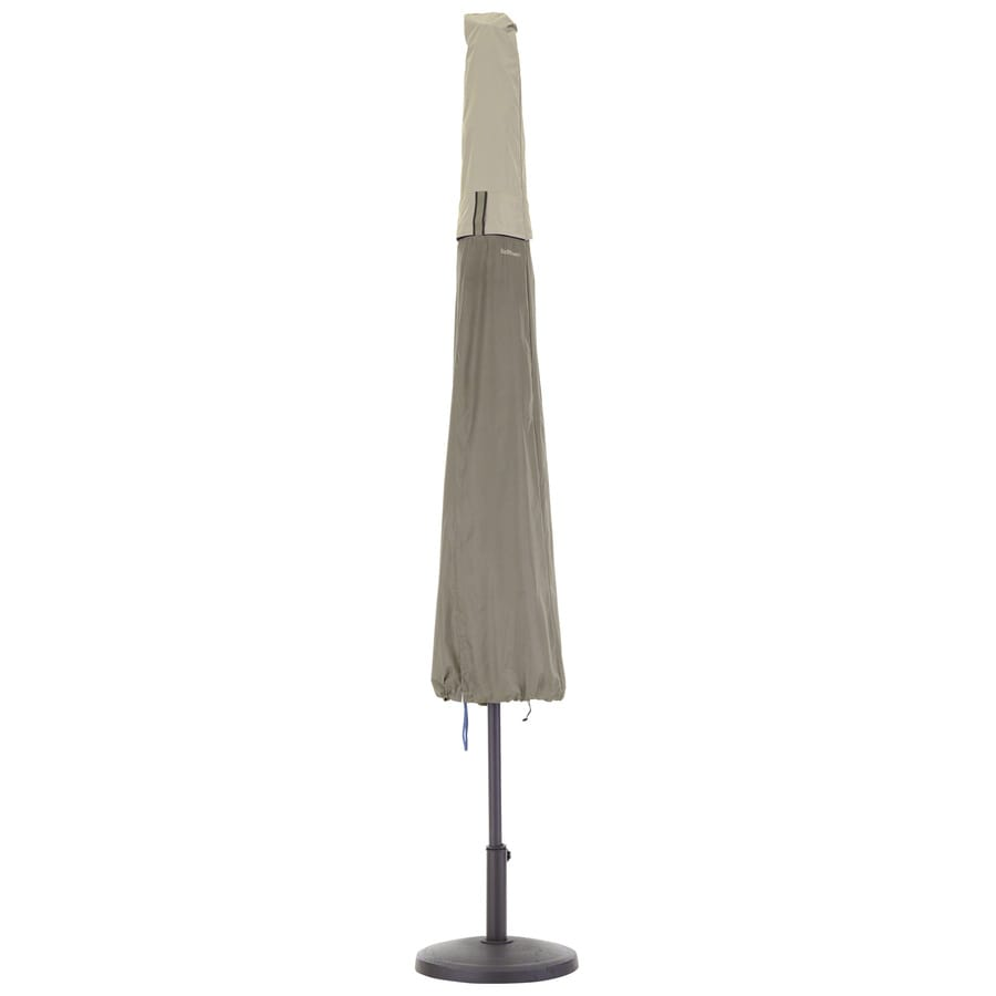 Classic Accessories Belltown Sidewalk Grey Umbrella Cover