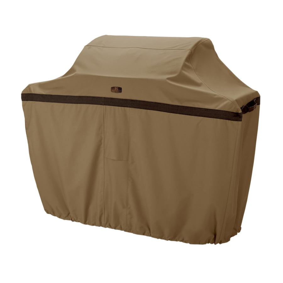 Classic Accessories 22.5-in x 49-in Hickory Polyester Gas Grill Cover Universal