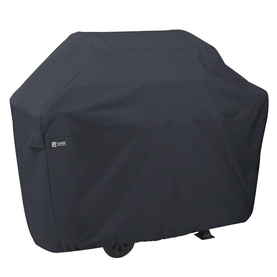 Classic Accessories 22.5-in x 46-in Polyester Gas Grill Cover