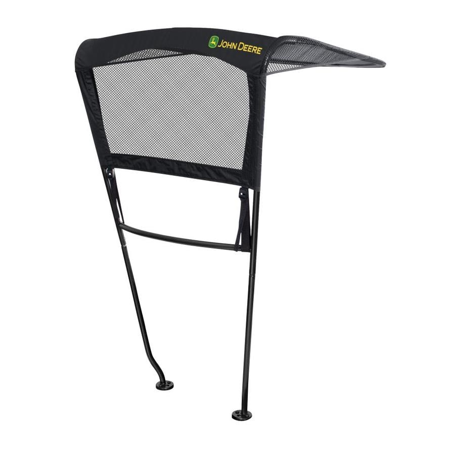 John Deere Black Polyester Riding Lawn Mower Canopy