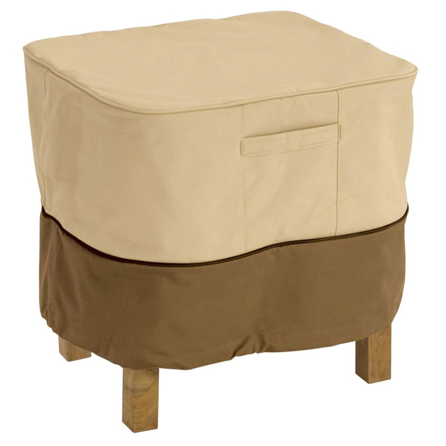 Classic Accessories Veranda Pebble and Bark Ottoman Cover
