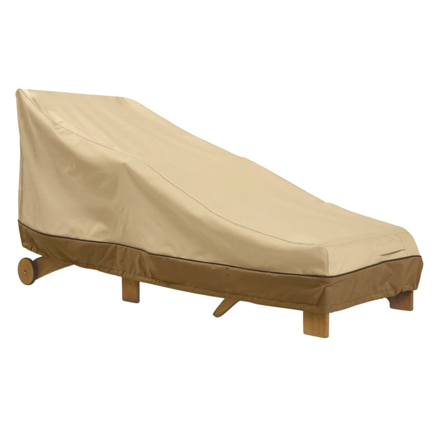 Classic Accessories Veranda Pebble and Bark Chaise Lounge Cover