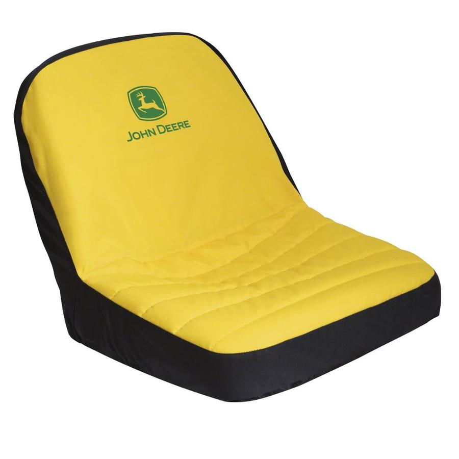 John Deere Riding Mower Seats : Shop john deere high back lawn mower seat cover at lowes
