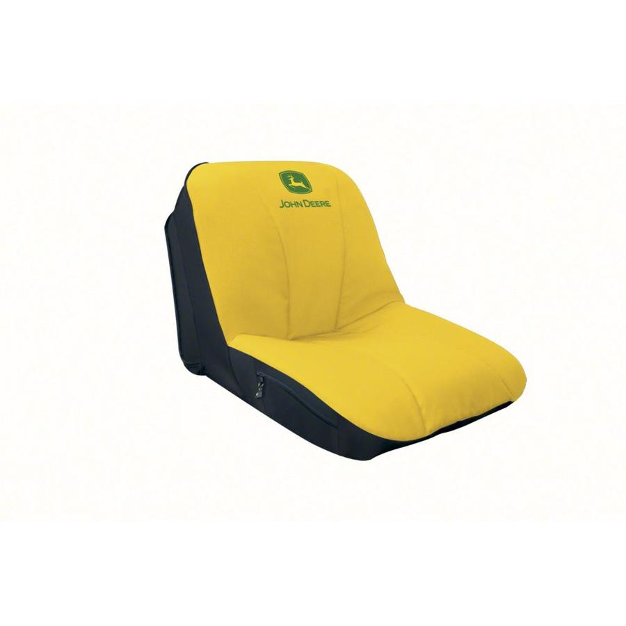 John Deere High-Back Lawn Mower Seat Cover