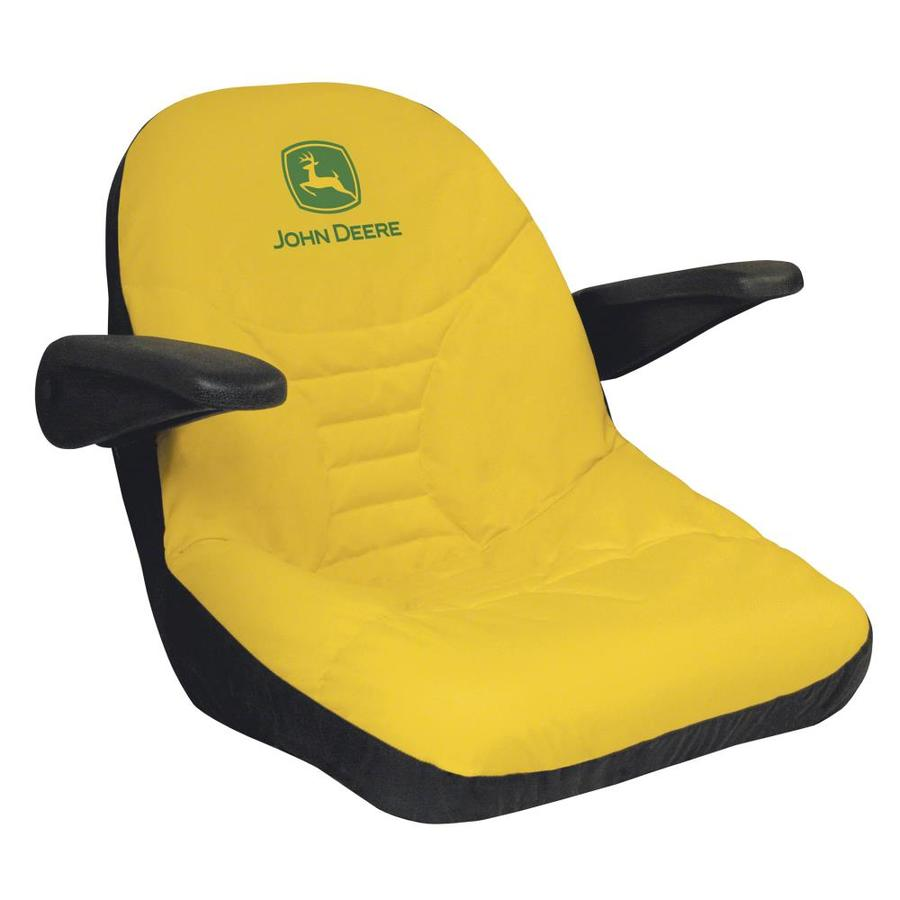 John Deere Riding Mower Seats : Shop john deere mid back lawn mower seat cover at lowes