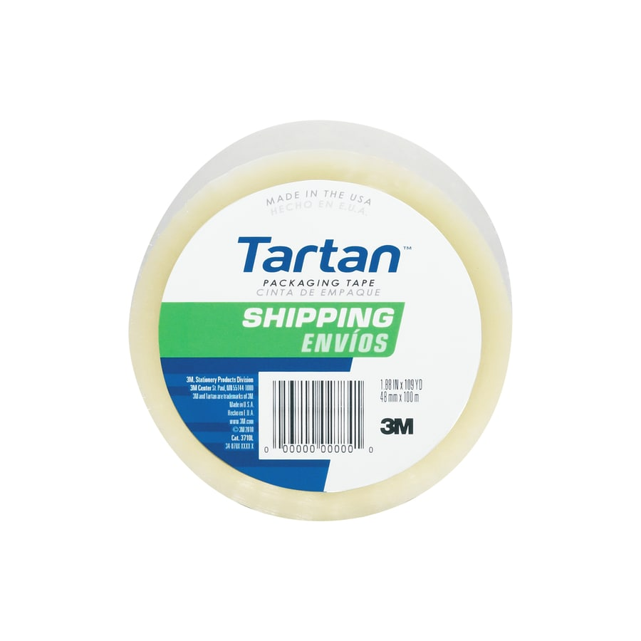 Tartan 1.88-in x 327-ft Clear Packing Tape