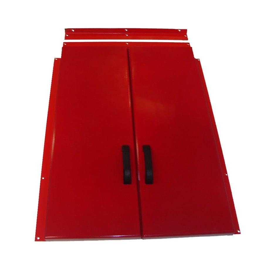 Gordon 52.5-in x 73.5-in Steel Cellar Door