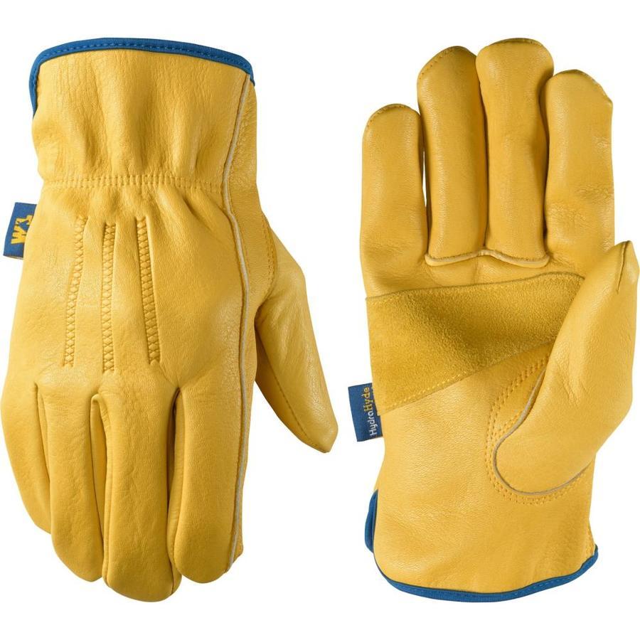 Wells Lamont Hydrahyde Large Mens Leather Multipurpose