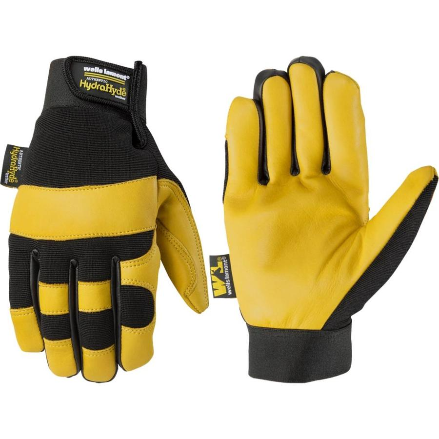 0a250ed3d1f57 Wells Lamont Hydrahyde X Large Mens Leather Multipurpose Gloves At