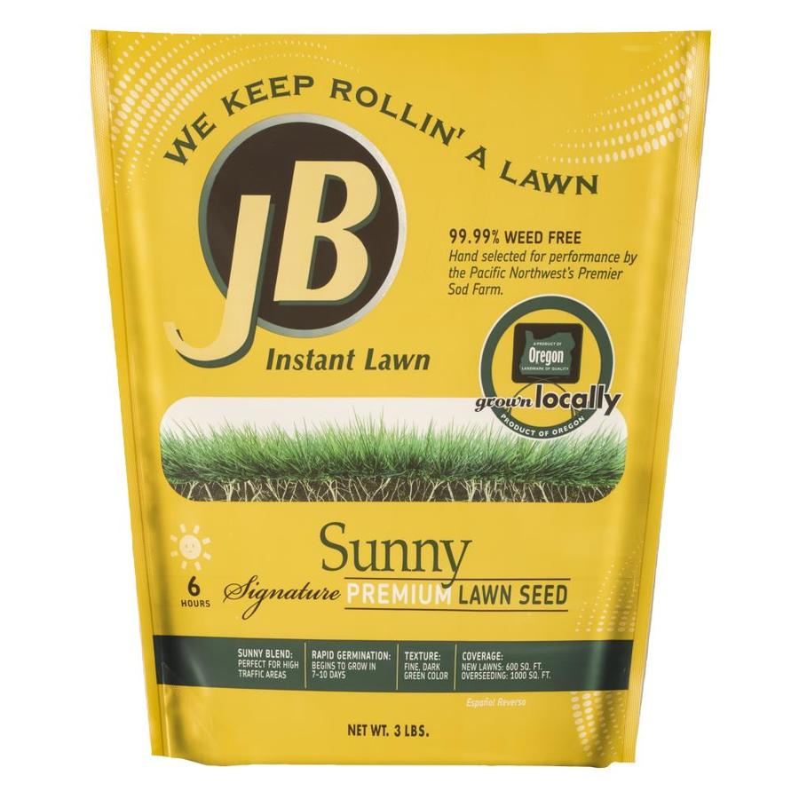 JB Instant Lawn Signature 3-lb Grass Seed Sunny Seed