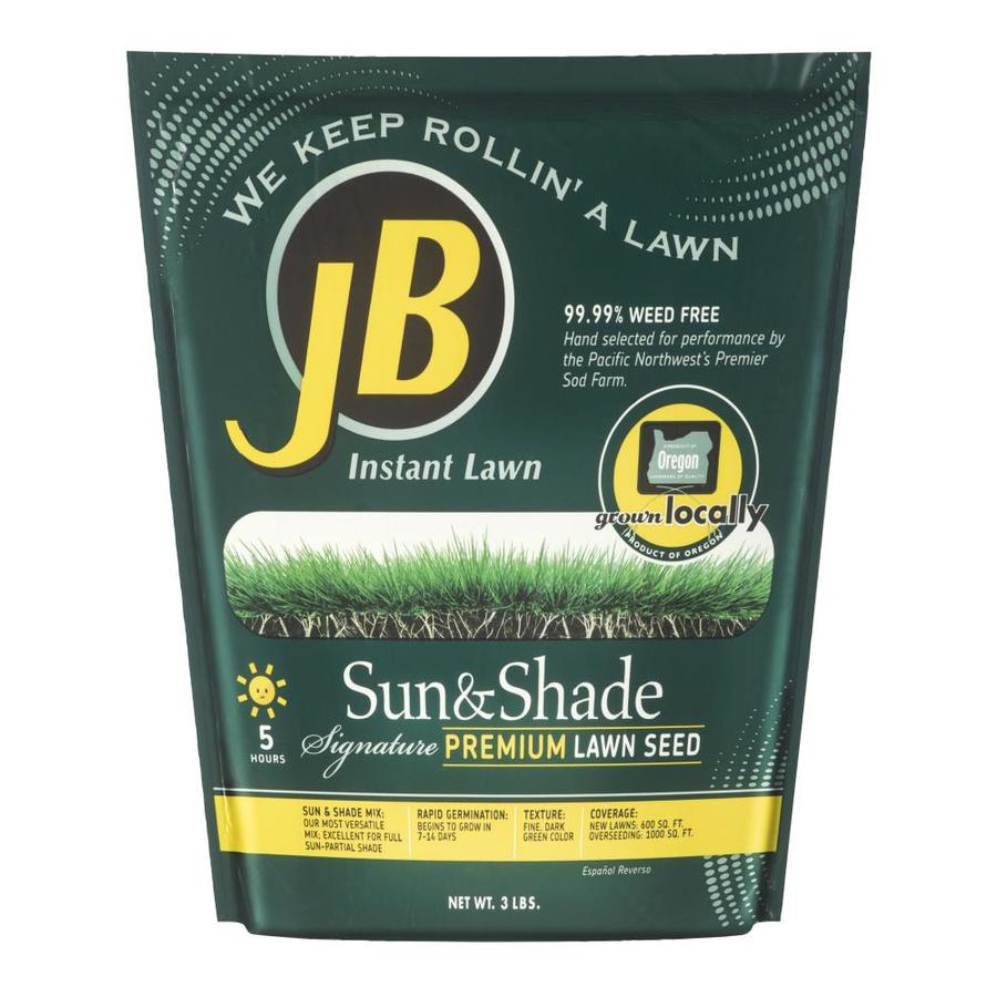 JB Instant Lawn Signature 3-lb Grass Seed Sun and Shade Seed