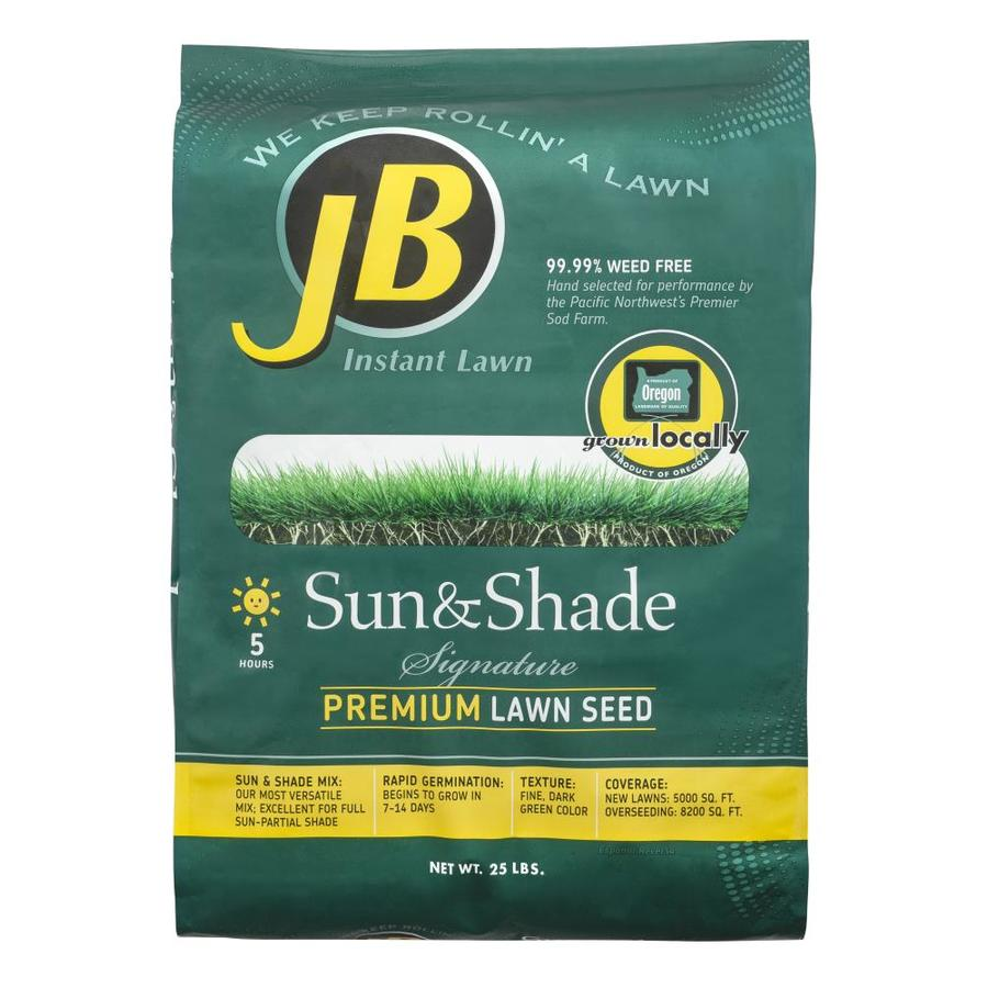 JB Instant Lawn Signature 25-lb Grass Seed Sun and Shade Seed