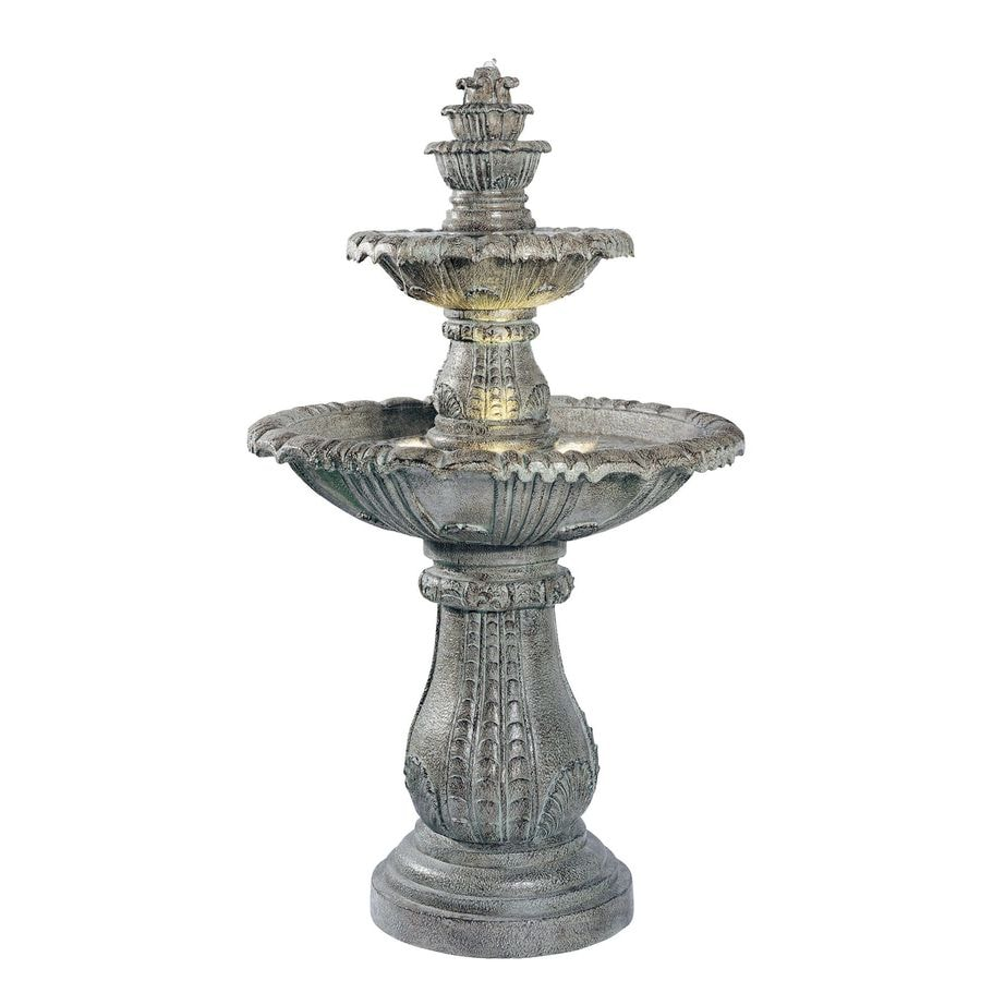 Kenroy Home Venetian 57-in Resin Tiered