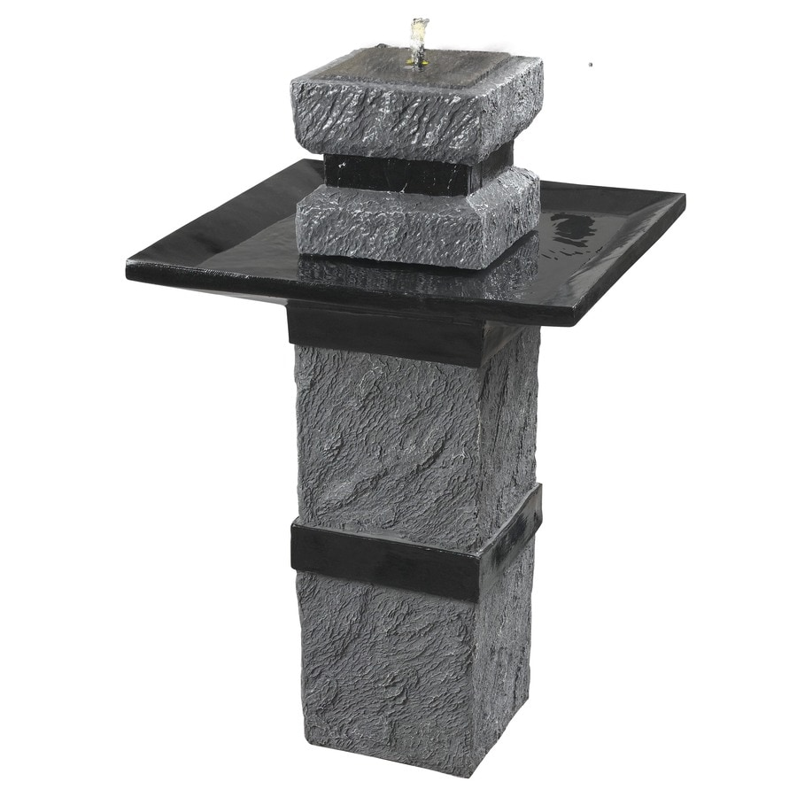 Kenroy Home Monolith 34-in Resin Tiered