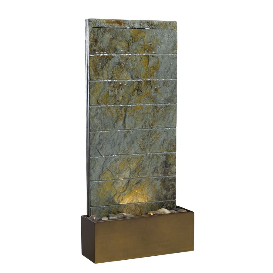Kenroy Home Brook 36-in Resin Tiered Fountain