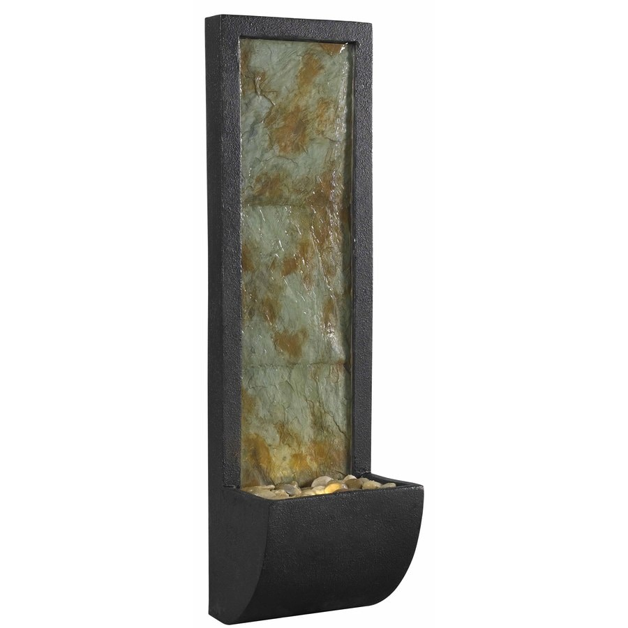 Kenroy Home Walla 40.05-in Resin Wall Fountain