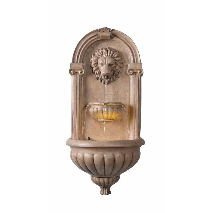 North Star Designs Palermo Resin Wall Outdoor Fountain Lowes