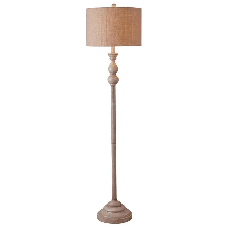North Star Designs Watkins 59 In Toasted Almond Floor Lamp In The Floor Lamps Department At Lowes Com
