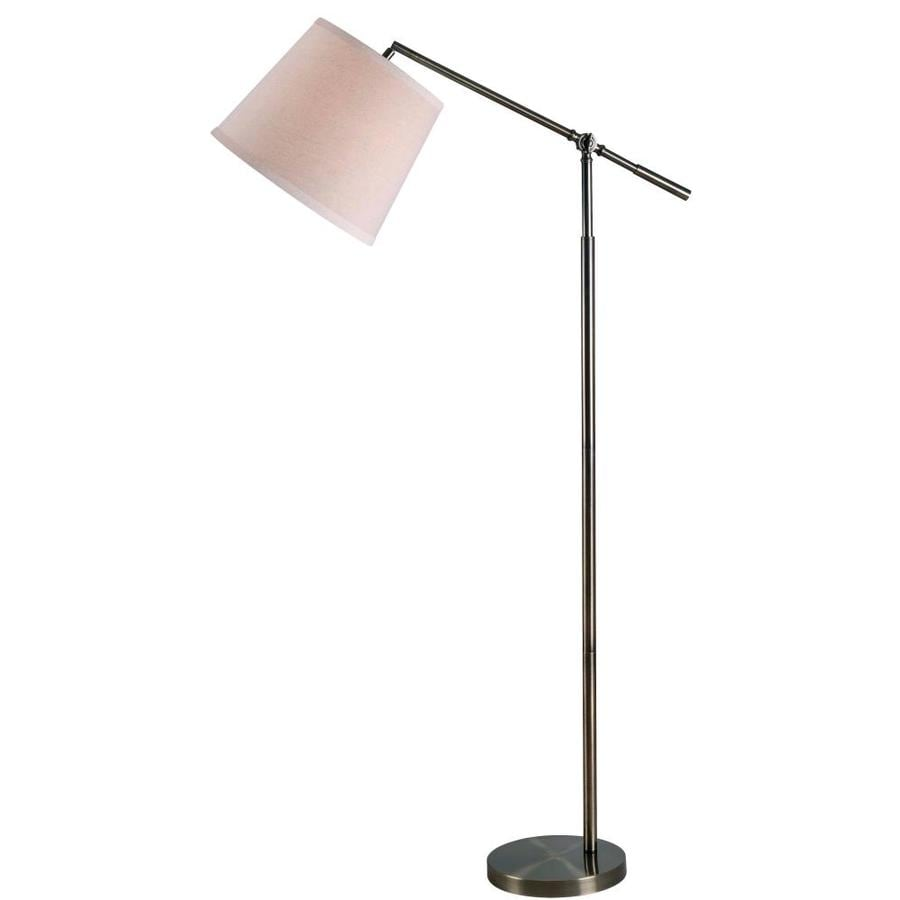 North Star Designs Westfield 71 In Brass Swing Arm Floor Lamp In The Floor Lamps Department At Lowes Com