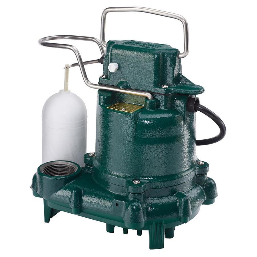 zoeller sump pump m53 0 3 hpcast iron submersible sump pump Sump Pump Battery Pack For