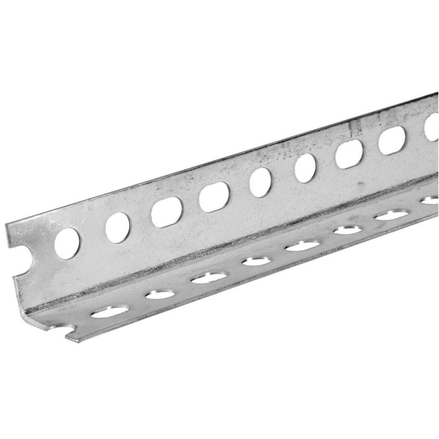 Hillman 5-ft x 1-1/4-in Plated Steel Slotted Angle