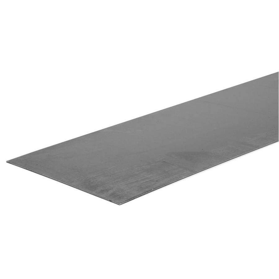Hillman 8-in x 2-ft Cold-Rolled Weldable Steel Sheet Metal