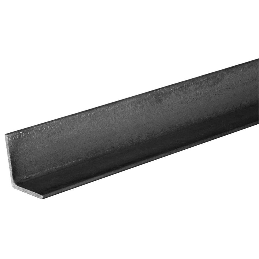 Hillman 6-ft x 1-1/4-in Hot-RolLED Weldable Steel Solid Angle