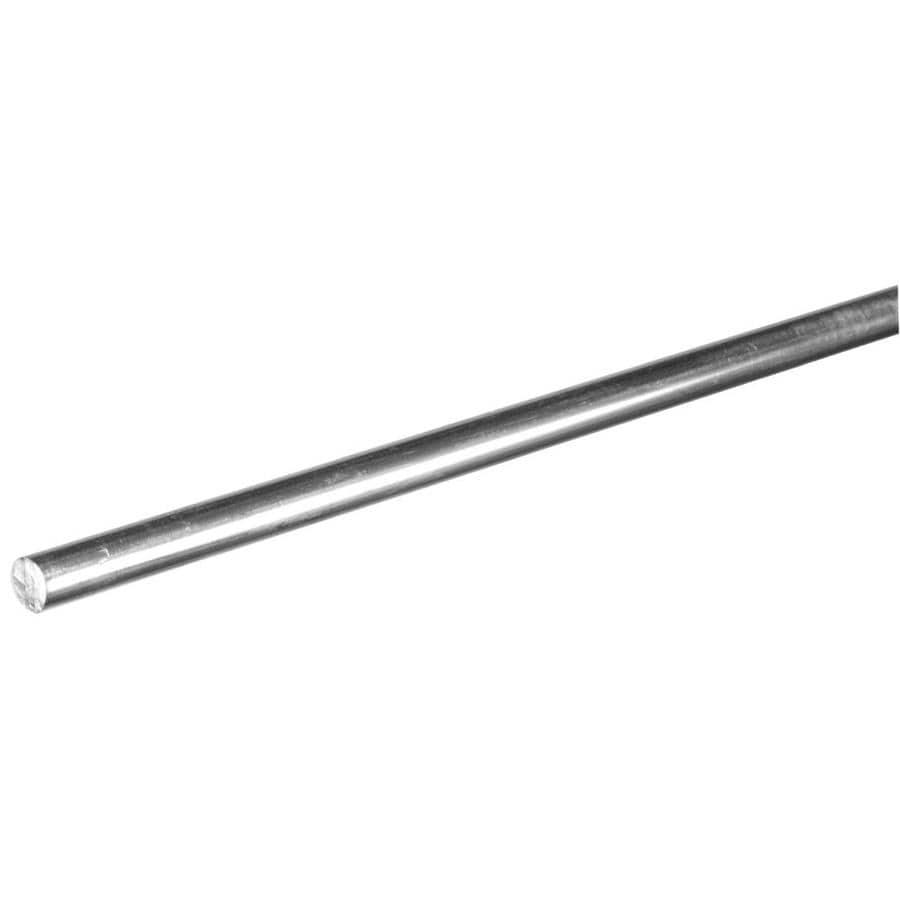 Hillman 3-ft x 0.25-in Aluminum Metal Round