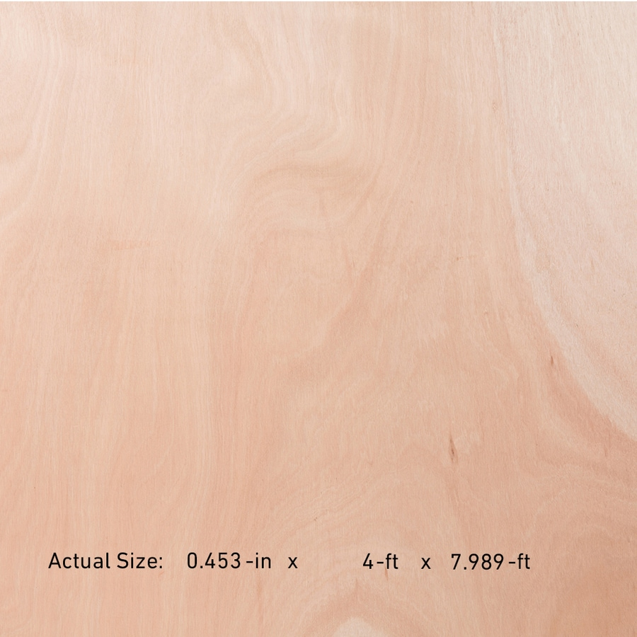 SuperPly 15/32-in Okoume Plywood, Application as 4 x 8