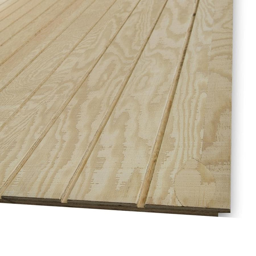 (Common: 0.594-in x 48-in x 96-in; Actual - Shop Wood Siding Panels At Lowes.com