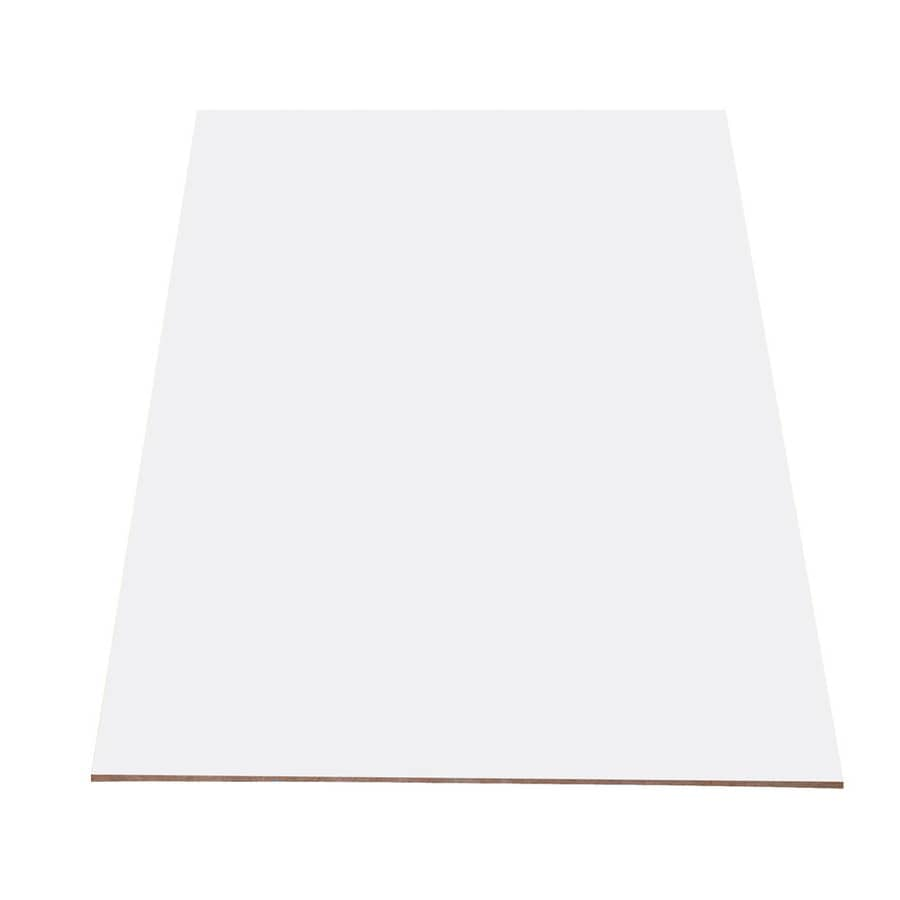 Duramine (Actual: 0.75-in x 4.083-ft x 8.083-ft) Commercial Thermally Fused Laminate Particle Board