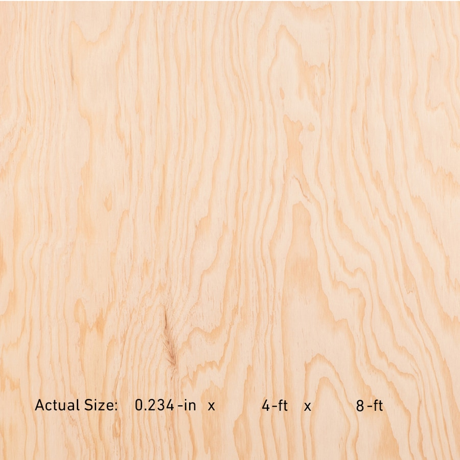1/4 CAT PS1-09 Douglas Fir Sanded Plywood, Application as 4 x 8