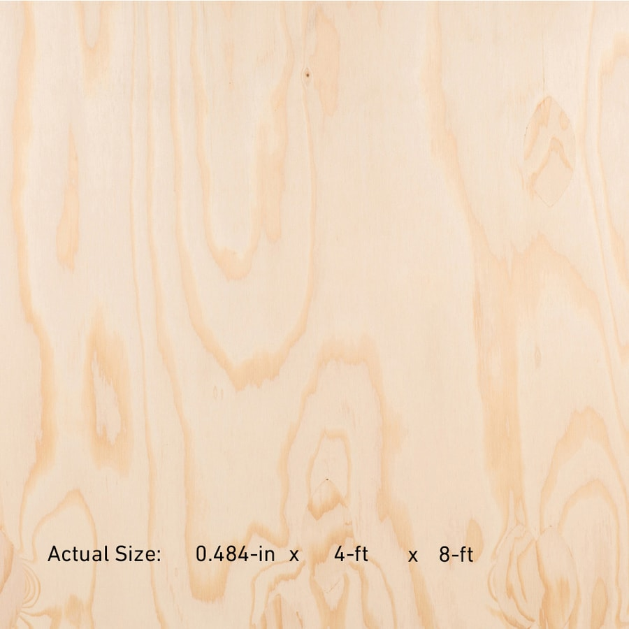 1/2 CAT PS1-09 Marine Grade Douglas Fir Sanded Plywood, Application as 4 x 8