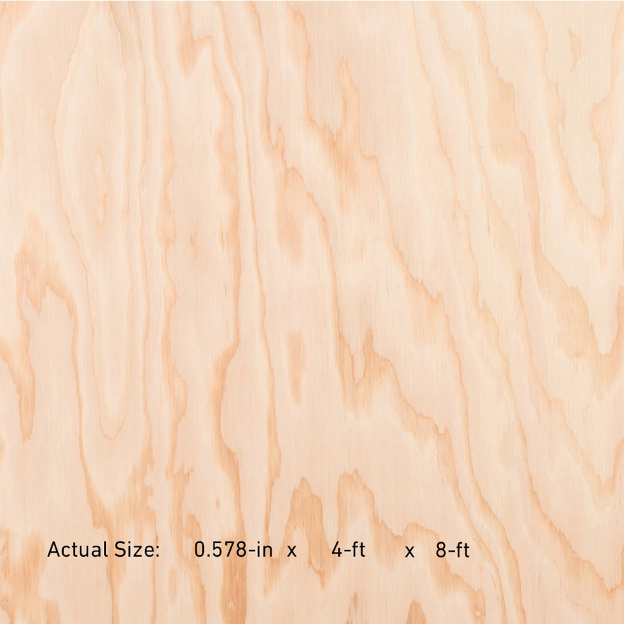 19/32 CAT PS1-09 Douglas Fir Sanded Plywood, Application as 4 x 8