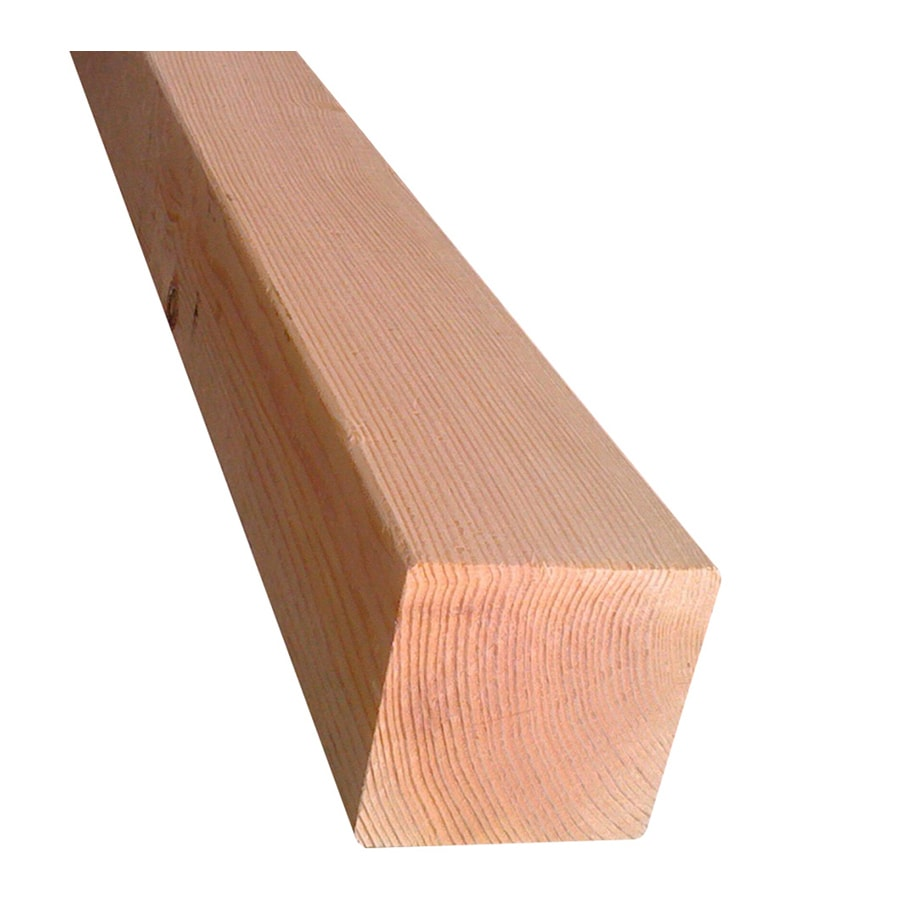 (Common: 4-in x 4-in x 8-ft; Actual: 3.437-in x 3.437-in x 7.937-ft) Lumber