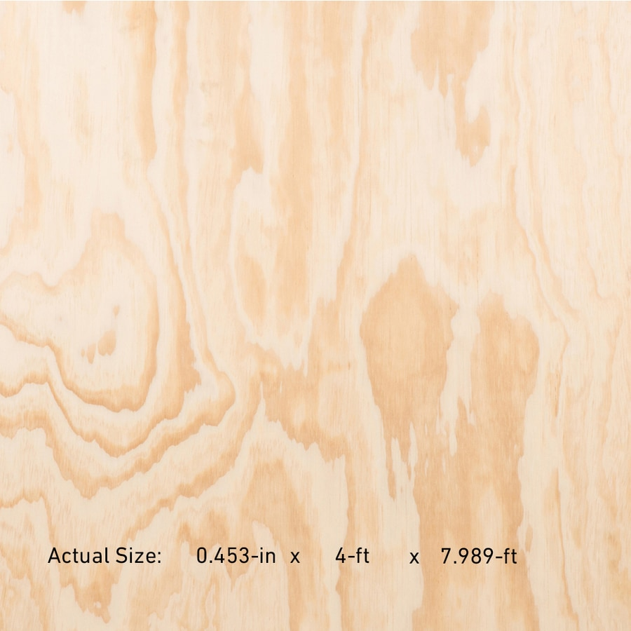 AC Plus 15/32-in Common Radiata Pine Sanded Plywood, Application as 4 x 8