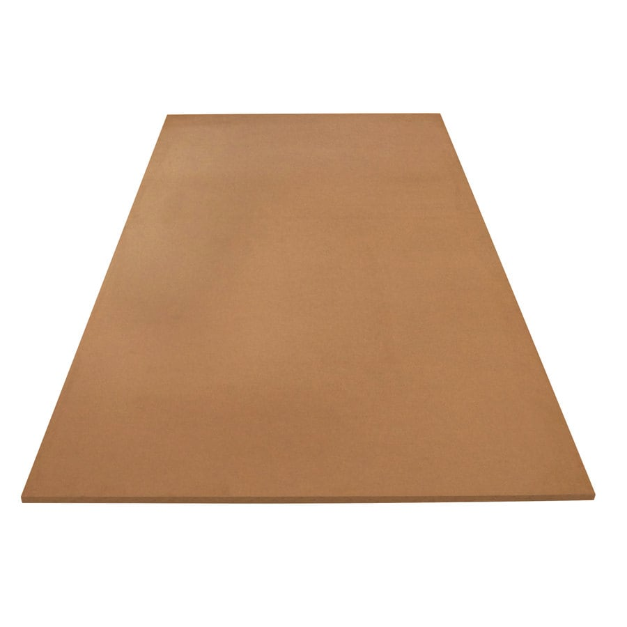 (Actual: 0.75-in x 49-in x 8.083-ft) Medium-Density MDF